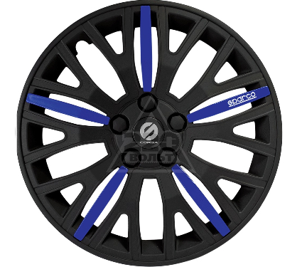 Колпаки на колёса SPARCO SPC/WC-1350L BK/BL (14)