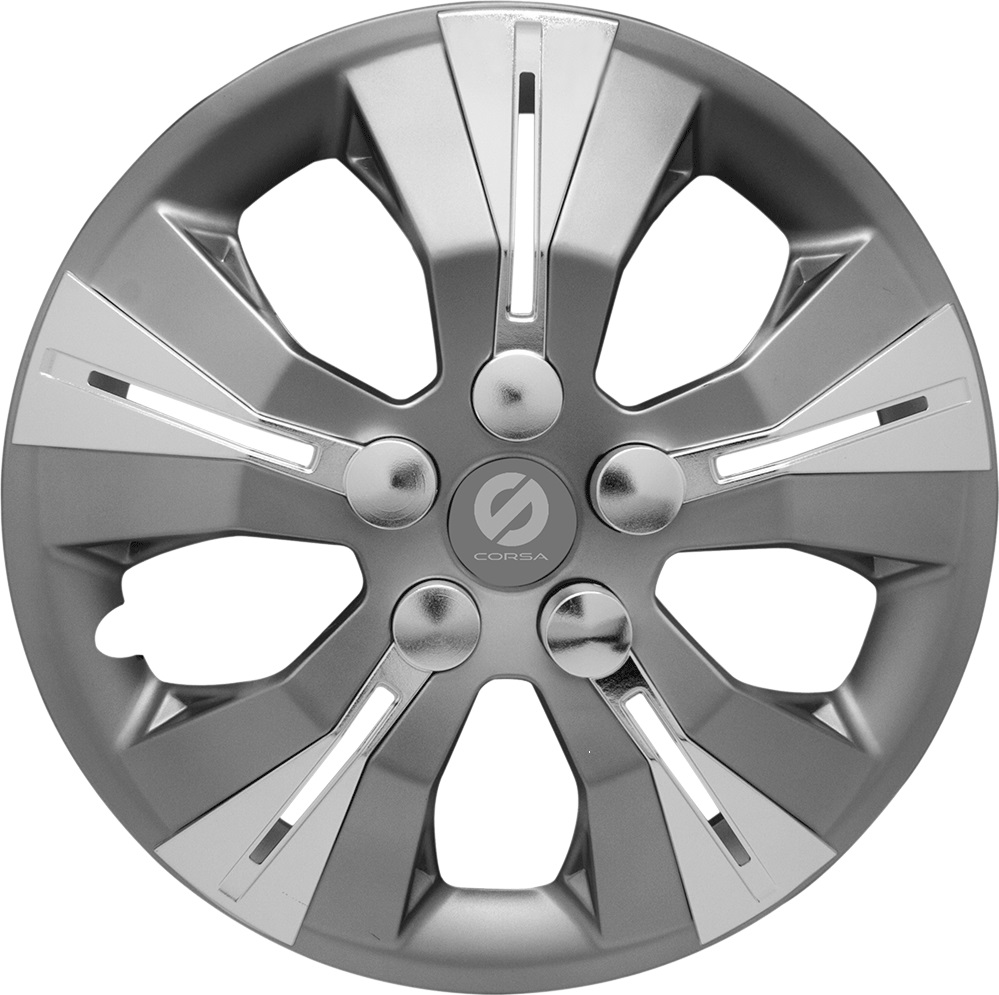 Колпаки на колёса Sparco Spc/wc-1360 gy/silver (13)