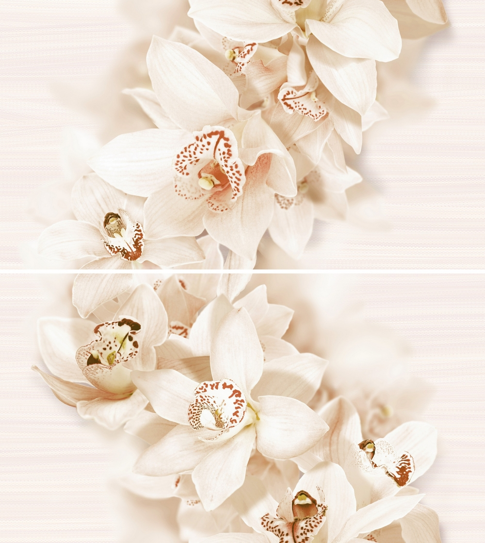 Декор керамический Globaltile 1605-0001 aroma бежевый 2шт