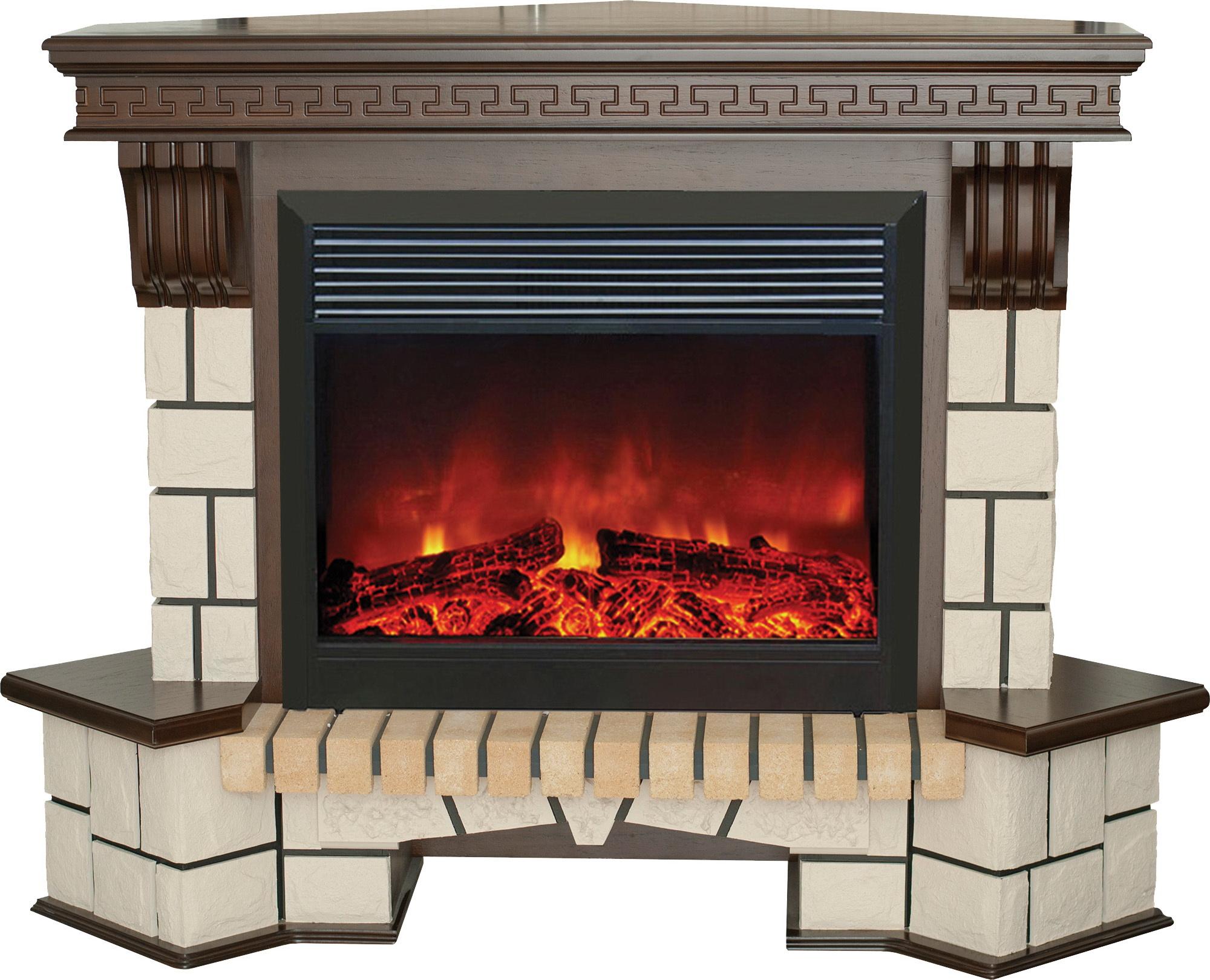 Электрокамин Real flame Stone corner 26