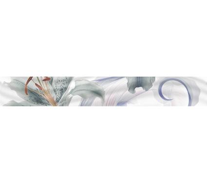 Бордюр керамический GLOBALTILE 1504-0141 Fortuna Многоцветный 18шт