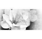 Декор-панно керамический GLOBALTILE 1608-0110 Unica Серый 4шт
