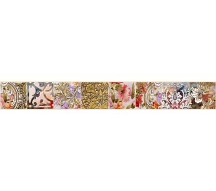 Бордюр керамический ROVESE (CERSANIT) LA1J451DT Lati Бежевый 10шт