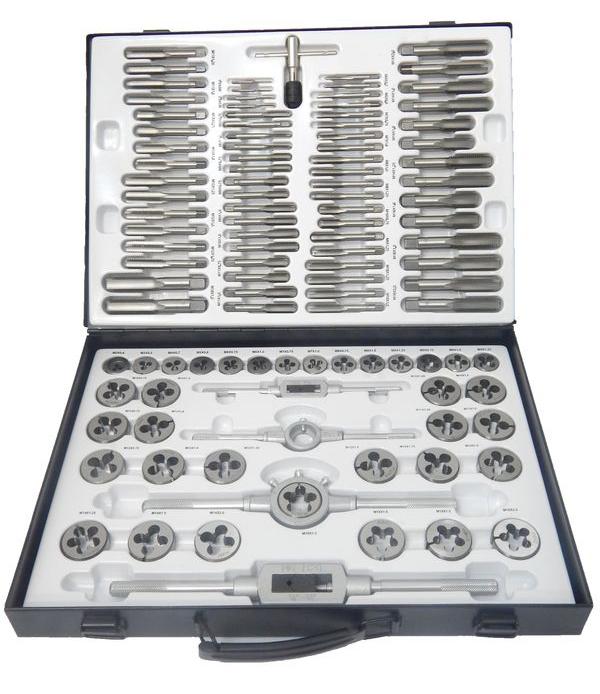 Набор метчиков и плашек Forsage 8702/m110-1 набор инструментов универсальный forsage 35 предметов 3351 5