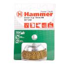 Кордщетка HAMMER 207-202 75*0,3*M6 мягкая гофрированная