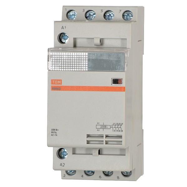Контактор Tdm Sq0213-0017 tdm контактор кмн 22510 25а 400в ас3 1но
