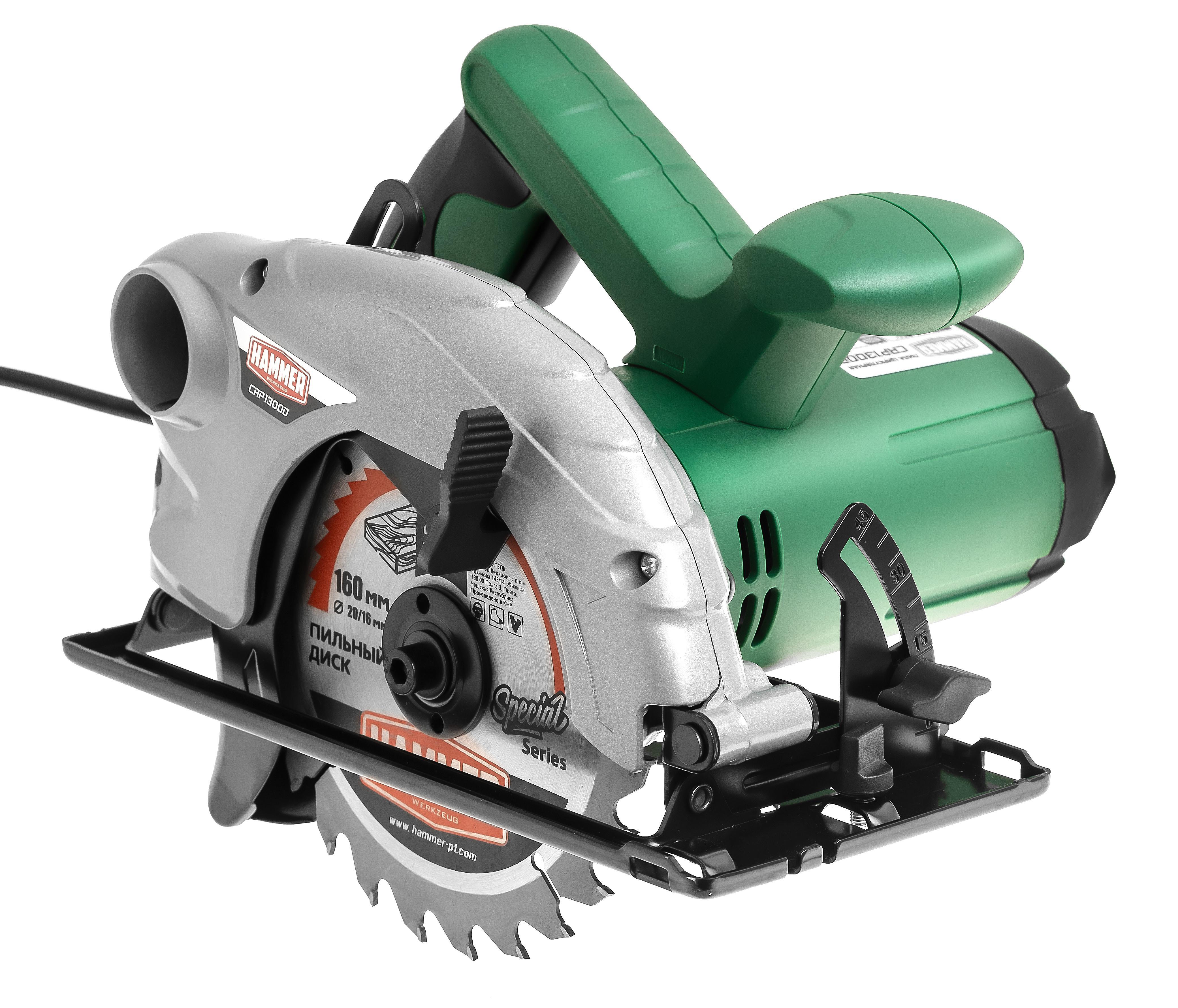 Купить Пила Циркулярная Hammer Crp1300D