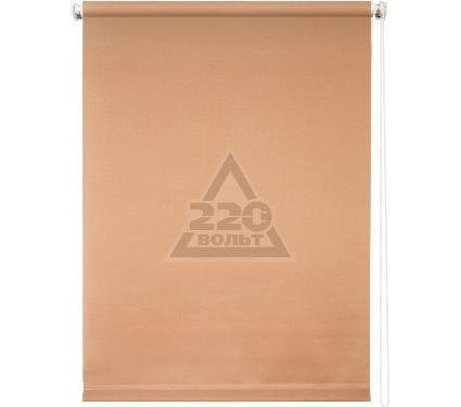 Рулонная штора УЮТ 120х175 Плайн кофейный