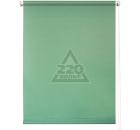 Рулонная штора УЮТ 80х175 Плайн светло-зеленый