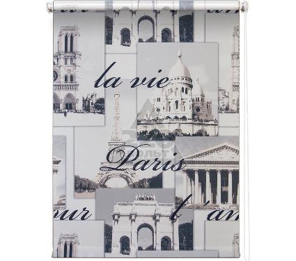Рулонная штора УЮТ 90х175 Париж серый