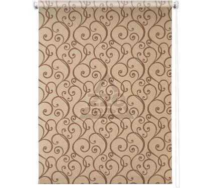 Рулонная штора УЮТ 90х175 Ампель коричневый