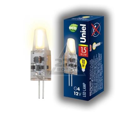 Лампа светодиодная UNIEL LED-JC-12/1,5W/WW/G4/CL SIZ05TR 25шт
