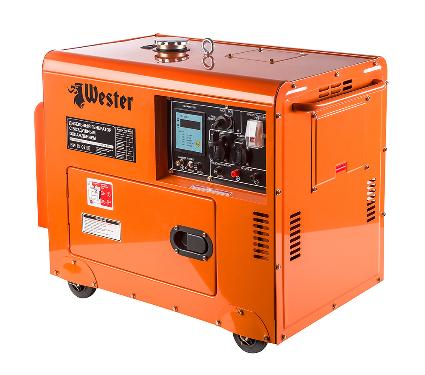 Купить Дизельный генератор WESTER GND4800D, генераторы (электростанции)