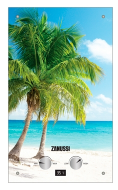 Газовая колонка Zanussi Gwh 10 fonte glass paradiso  цена и фото