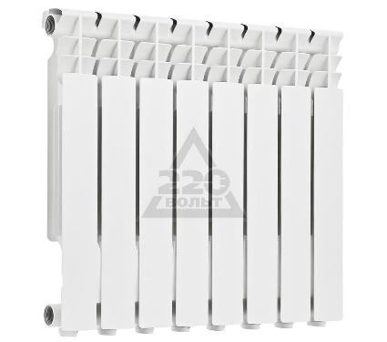 Радиатор алюминиевый ROMMER Optima 500/78 8 секций