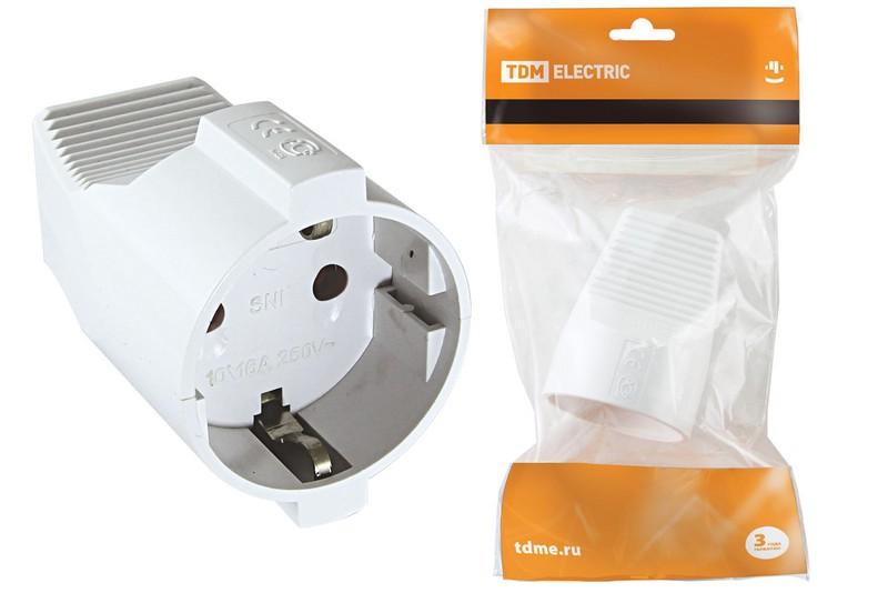 Розетка кабельная Tdm Sq1806-0411