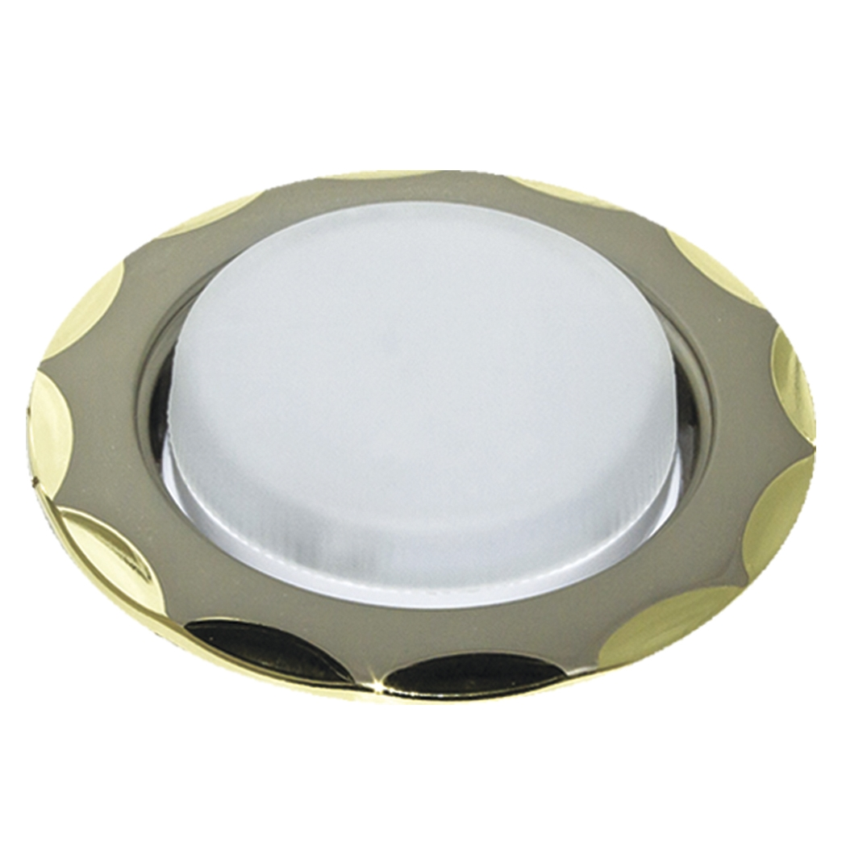 Светильник встраиваемый Escada Rieti gx53 001 gd/sn