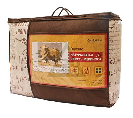 Одеяло НОРДТЕКС 183680 COMFORT LINE МЕРИНОС