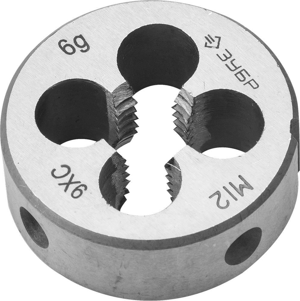 Плашка ЗУБР 4-28022-12-1.75
