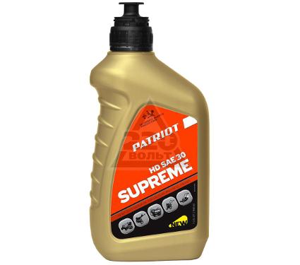 Масло моторное бензиновое PATRIOT SUPREME HD SAE 30 4Т