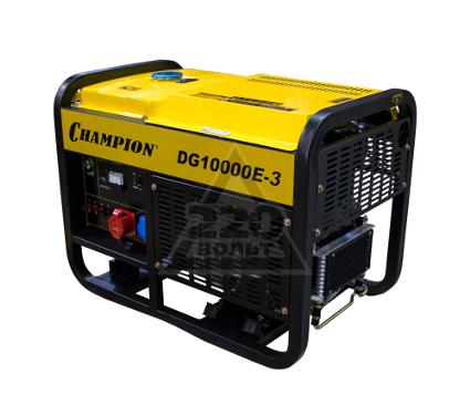 Дизельный генератор CHAMPION DG10000E-3