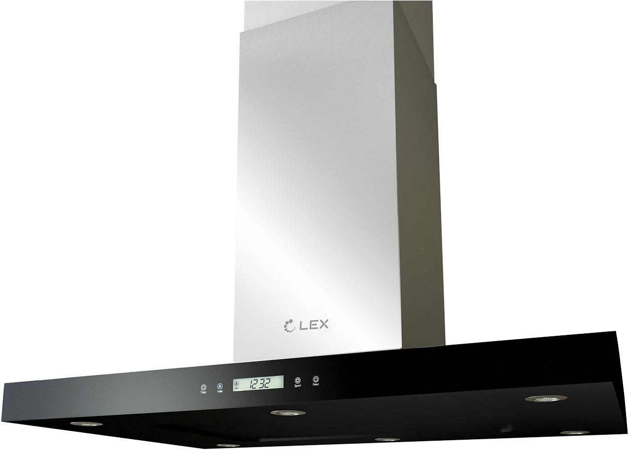 Вытяжка Lex Solaris 600 black