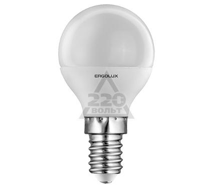 Лампа светодиодная ERGOLUX 12142 LED-G45-7W-E14-3K