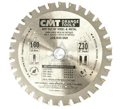 Диск пильный твердосплавный CMT 226.030.06H