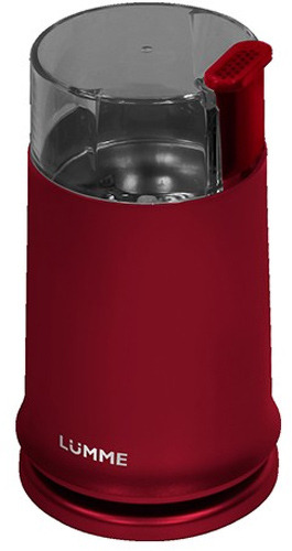 Кофемолка Lumme Lu-2601 красный гранат lumme lu 2601 dark blue