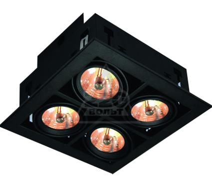 Светильник встраиваемый ARTE LAMP A5930PL-4BK