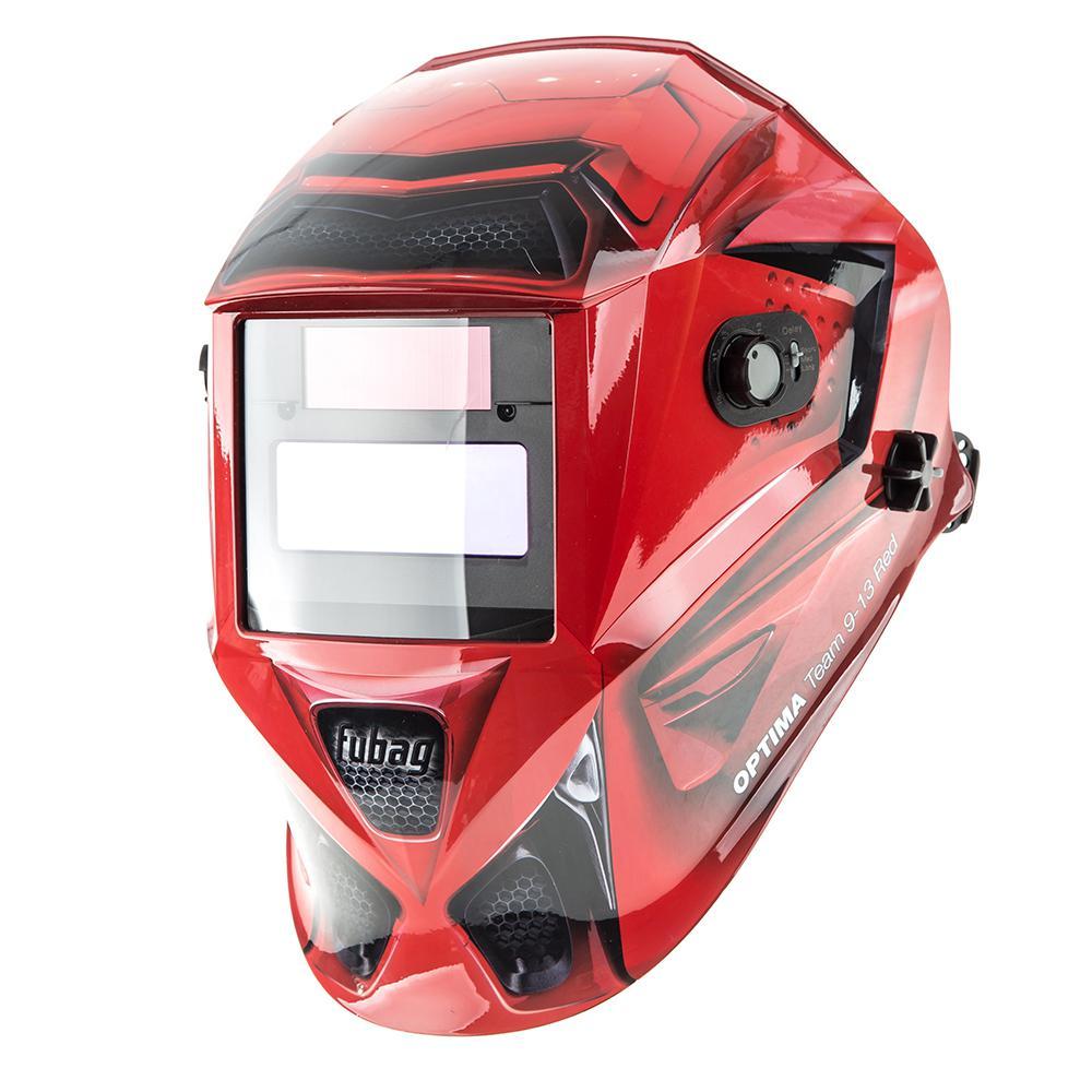 Маска Fubag Optima team 9-13 red 38075 маска сварщика fubag ultima 5 13 panoramic red хамелеон