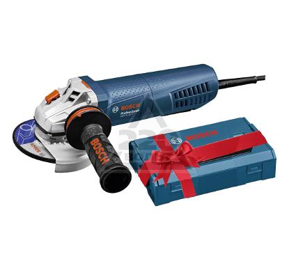 УШМ (болгарка) BOSCH 06017900R0 GWS 9-115 + ящик L-Boxx Mini