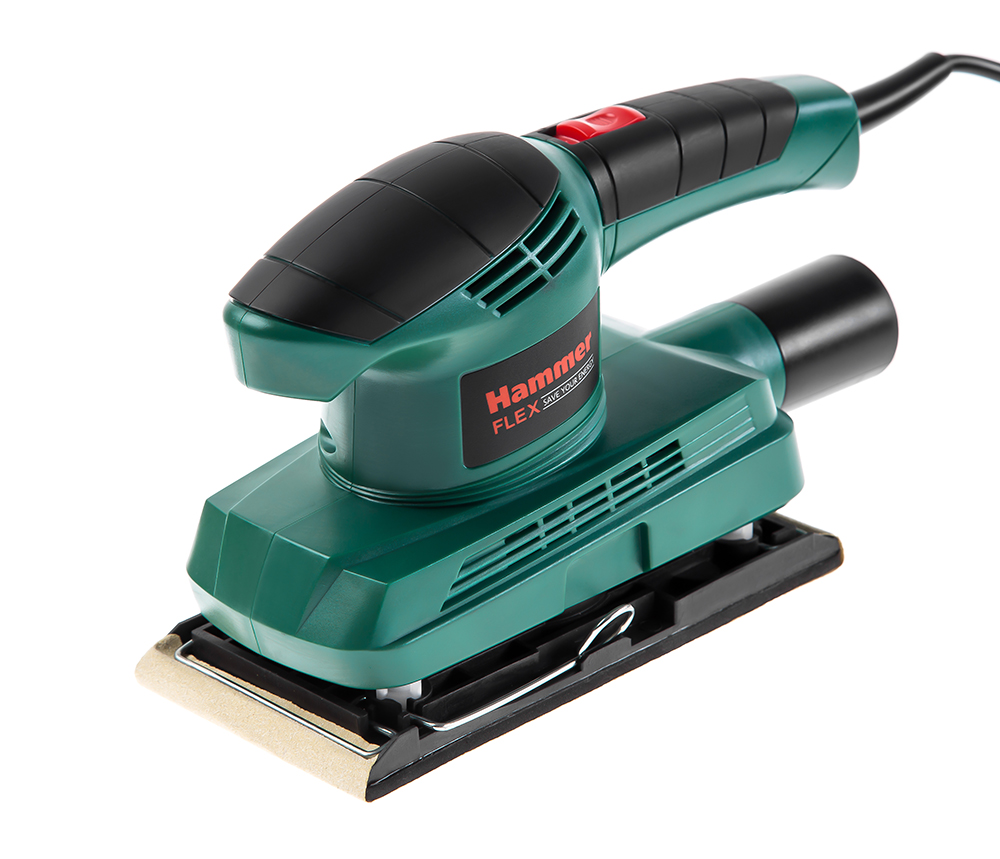 Машинка шлифовальная плоская (вибрационная) Hammer Psm150