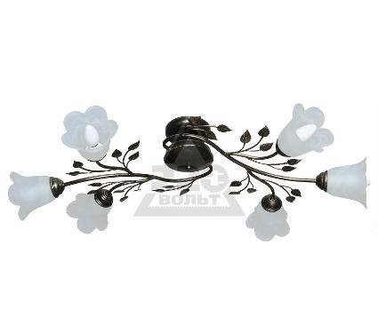 Светильник настенно-потолочный АВРОРА Лилия 10020-6C