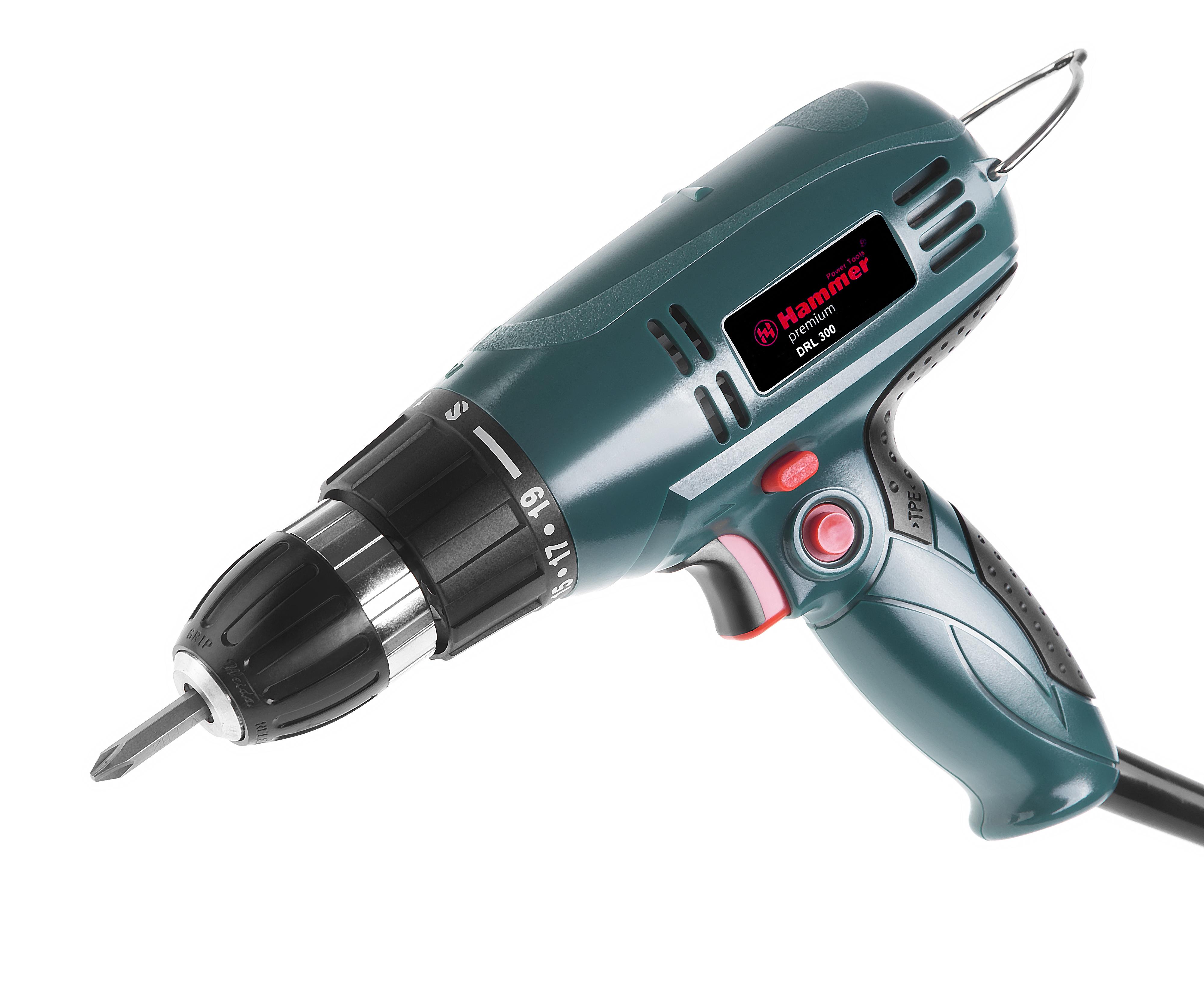 Дрель-шуруповерт Hammer Drl300 premium