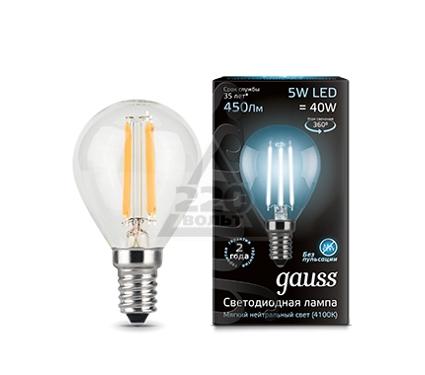 Лампа светодиодная GAUSS 105801205
