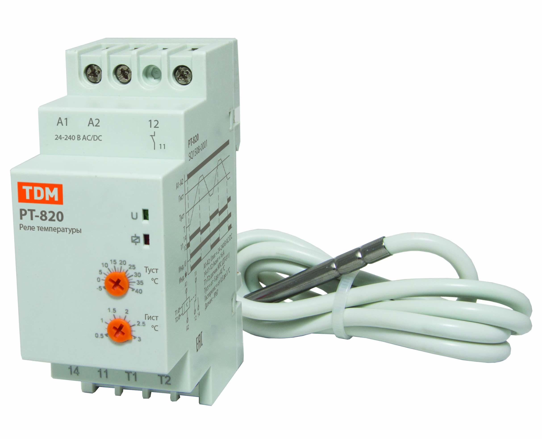 Терморегулятор Tdm Sq1508-0001