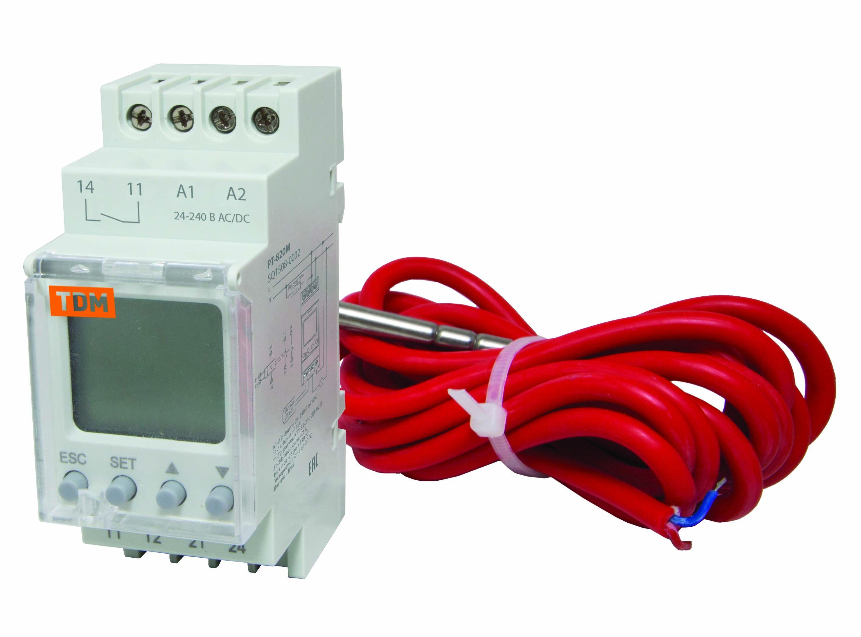 Терморегулятор Tdm Sq1508-0002
