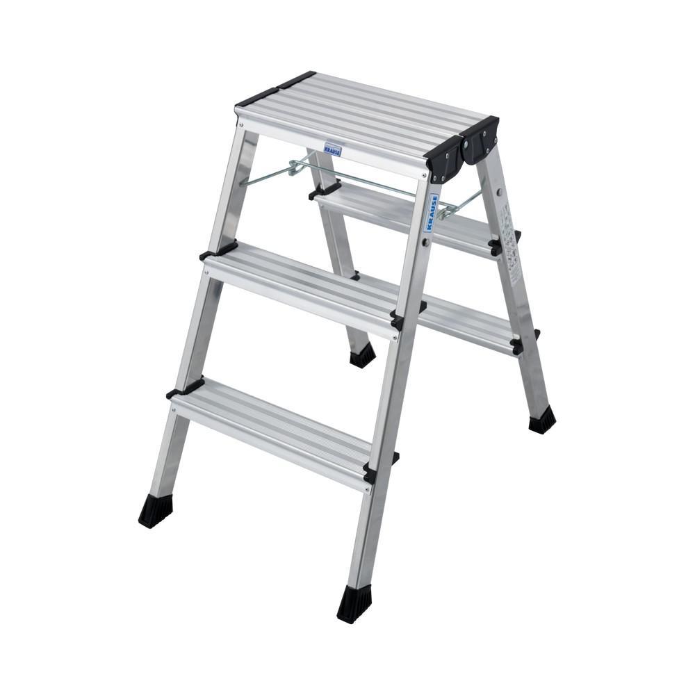Лестница алюминиевая складная Krause Rolly 130068