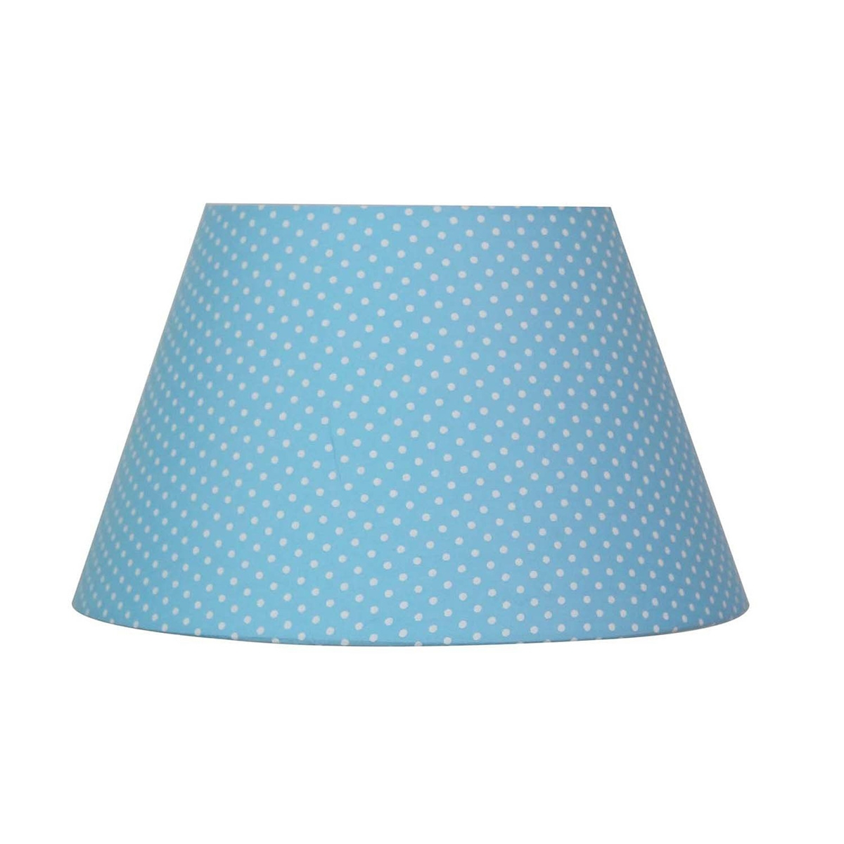 Абажур Lamplandia 7797-1 blue with white dots