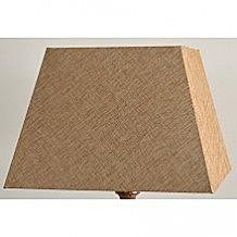 Абажур Lamplandia 7836-4 pyramid wild linen light brown