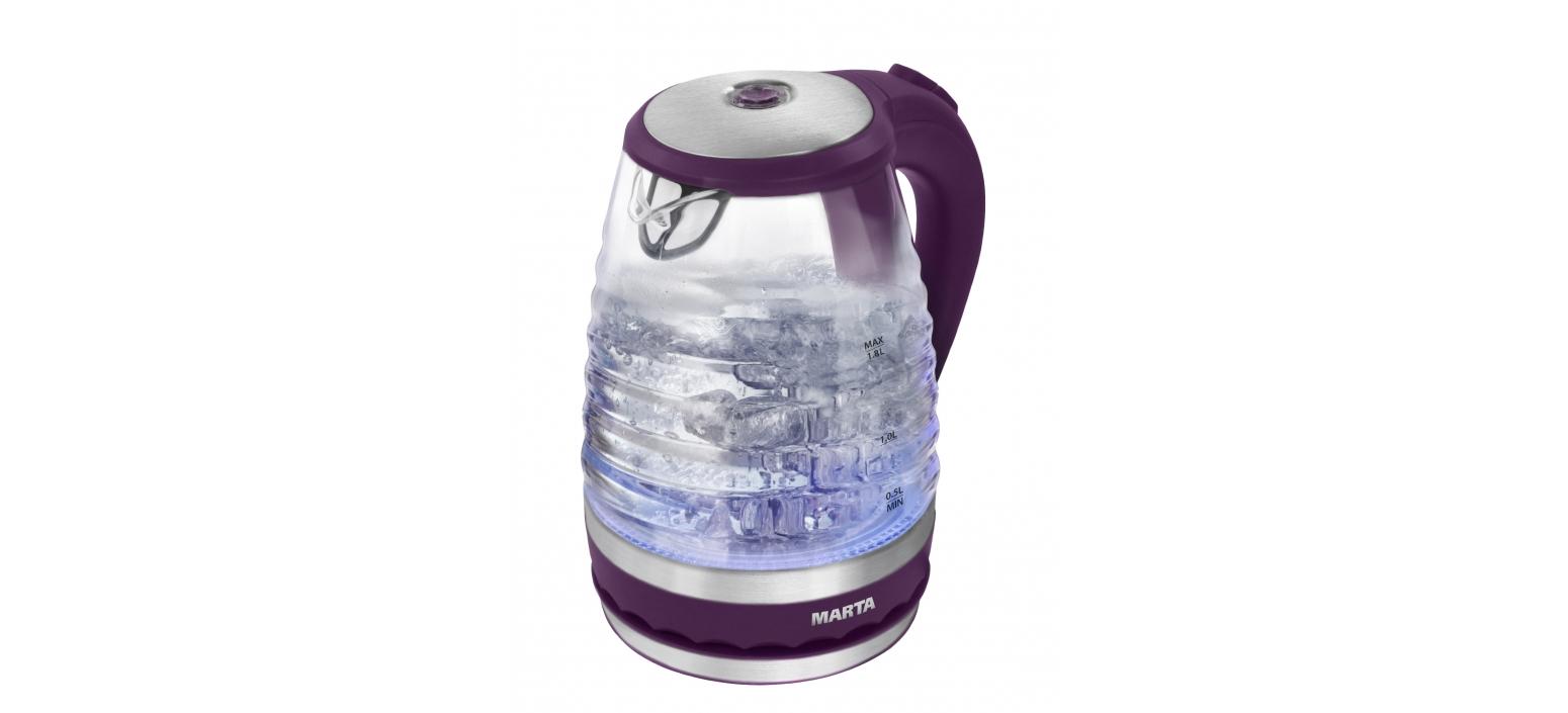 Чайник Marta Mt-1085 фиолетовый чароит