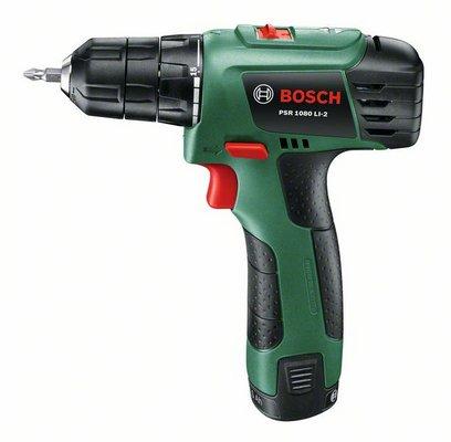 Дрель аккумуляторная Bosch Psr 1080 li-2