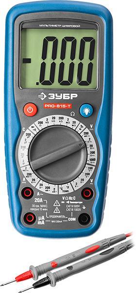 Мультиметр ЗУБР 59815-t