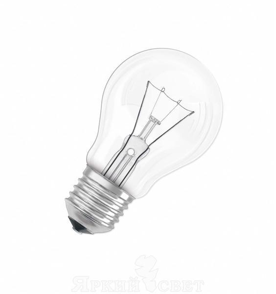 Лампа накаливания Osram Classic a cl 75w e27