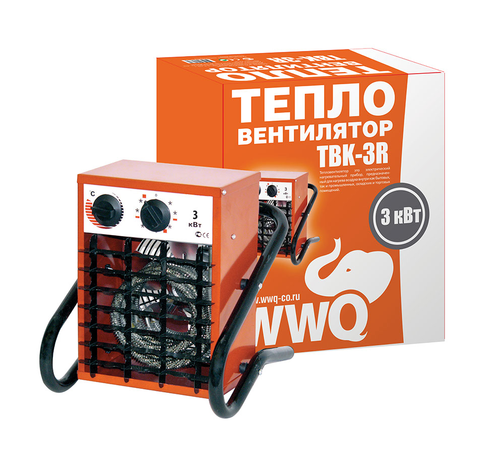 Тепловентилятор Wwq Tbk-3r