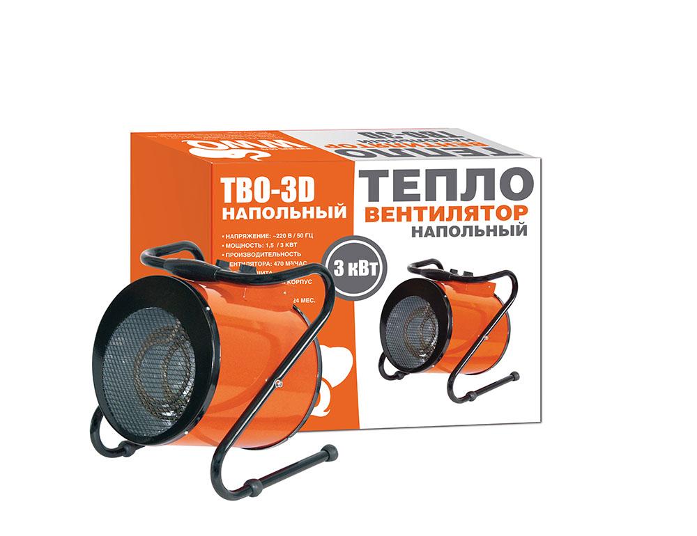 Тепловентилятор Wwq Tbo-3d