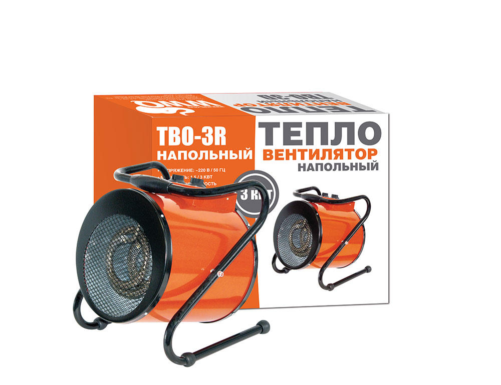 Тепловентилятор Wwq Tbo-3r