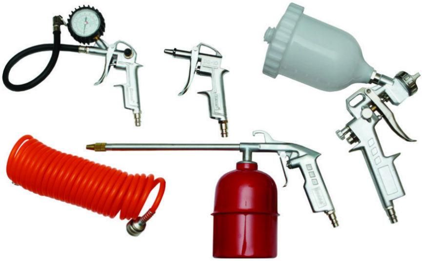 Набор пневмоинструмента Skrab 50161