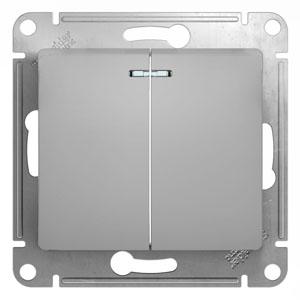 цены  Выключатель Schneider electric Glossa 1063752
